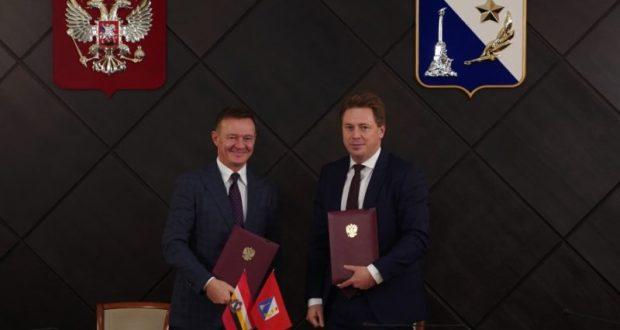 Севастополь с рабочим визитом посетила делегация из Курской области