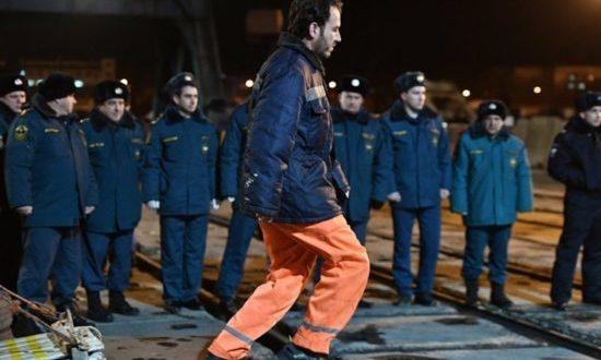 Пострадавшие при пожаре на танкерах в Чёрном море уже в Керчи