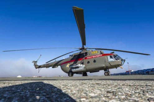 """В аэропорту """"Симферополе"""" теперь базируются модернизированные вертолёты Росгвардии"""