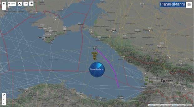 Долгий облет Крыма. С дозаправкой в воздухе