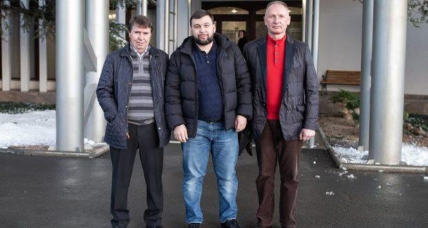 Глава Донецкой народной республики Денис Пушилин прибыл в Крым