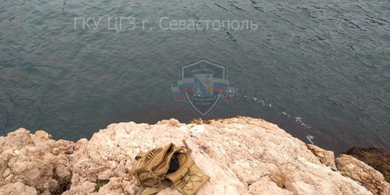ЧП в Балаклаве. Человек сорвался со скалы в море