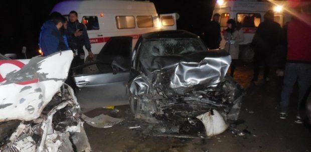 Вечернее ДТП на трассе «Симферополь – Бахчисарай», шестеро пострадавших