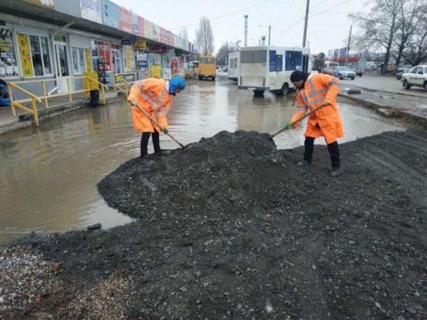 Благоустройство дорог в Симферополе: артель «Напрасный труд» или все-таки МБУ «Город»?