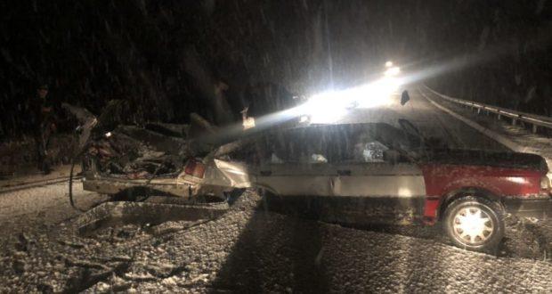 ДТП на спуске в Гаспру. Людей вырезали из салона авто