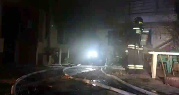 В Севастополе горела сауна в частной гостинице