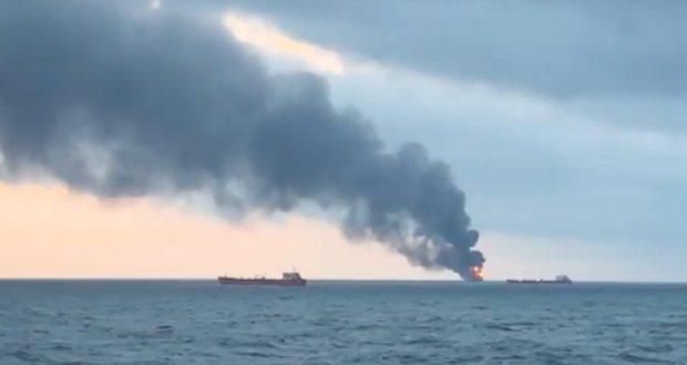 Говорить об ущербе экологии от горящих в Черном море танкеров рано