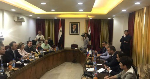 Губернатор Севастополя прибыл с официальным визитом в Сирию