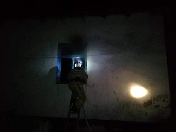 Ночной пожар в с. Малореченское - горел жилой дом. Погибла женщина