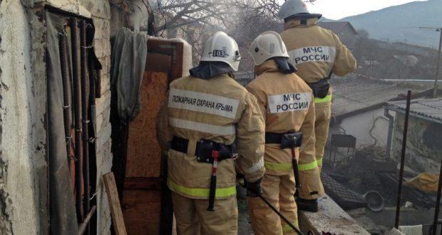 Невесёлый пожар в селе Весёлое, под Судаком