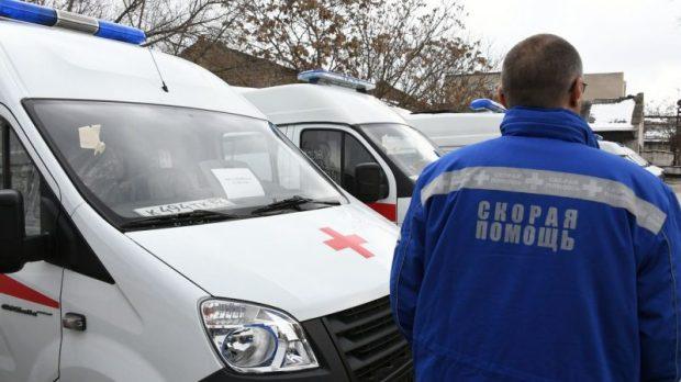 Крымский республиканский центр медицины катастроф получил 26 новых машин «скорой»