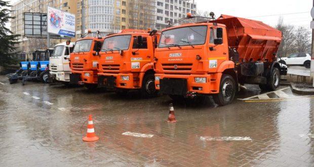 Симферополь готов к ухудшению погодных условий