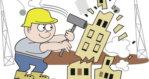 Почему все еще не снесли ТЦ «Куб» в Симферополе? Власти «разрабатывают порядок демонтажа объекта»