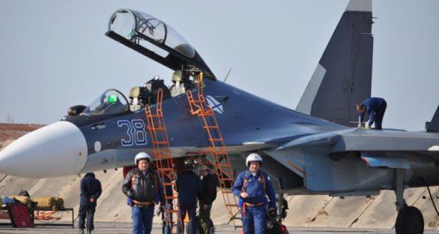 На учениях Крыму самолеты морской авиации ЧФ уничтожили десантный отряд кораблей «противника»