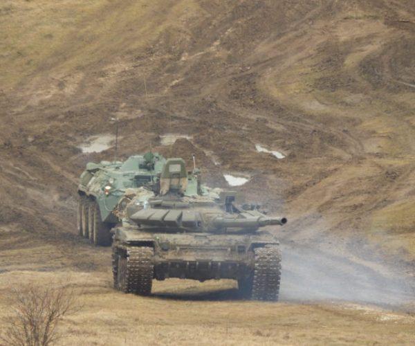 На военных учениях в Крыму продемонстрировали «Сирийский вал»