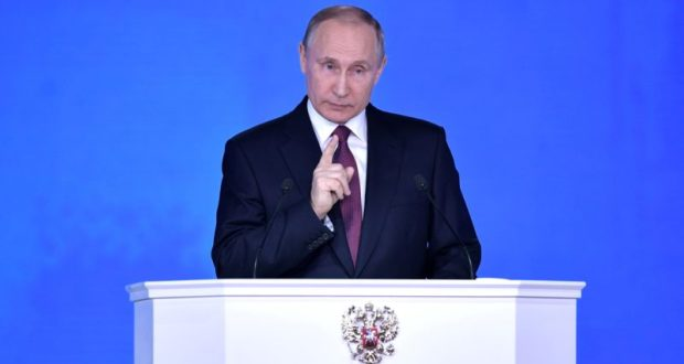 20 февраля Владимир Путин выступит с ежегодным посланием к Федеральному Собранию
