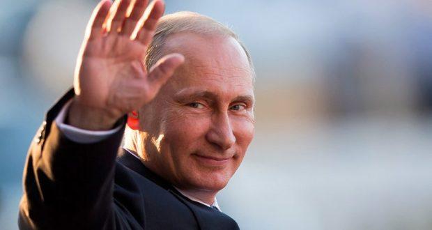 Президент России Владимир Путин - в Севастополе