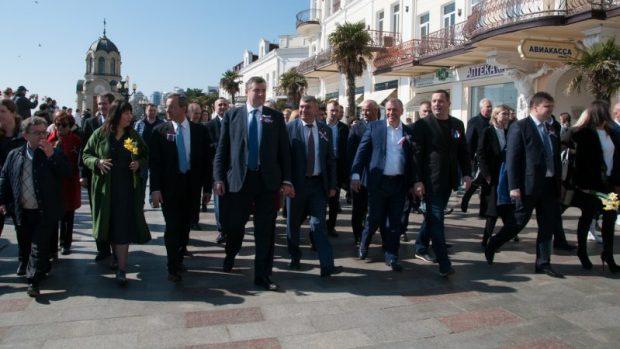 Делегация французских политиков посетила Ялту и Севастополь