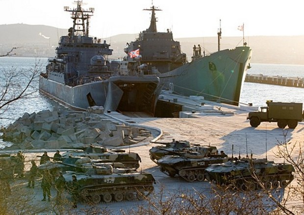 Россия усилила войсковую группировку в Крыму
