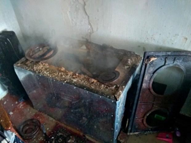 Пожар в Бахчисарайском районе. Удалось предотвратить большую беду