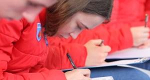 «Тотальный диктант» в «Артеке» написали две с половиной тысячи детей и взрослых