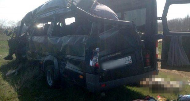 Дело о смертельном ДТП под Армянском с участием электропоезда и микроавтобуса передано в суд
