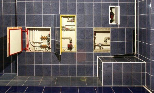 Как спрятать трубы в ванной: материалы, способы, инструменты