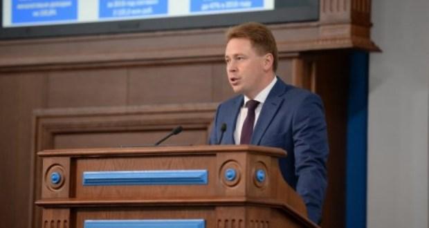 Во вторник губернатор Севастополя отчитается перед депутатами Заксобрания
