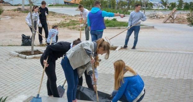Студенческие отряды Севастополя провели серию выездных Десантов