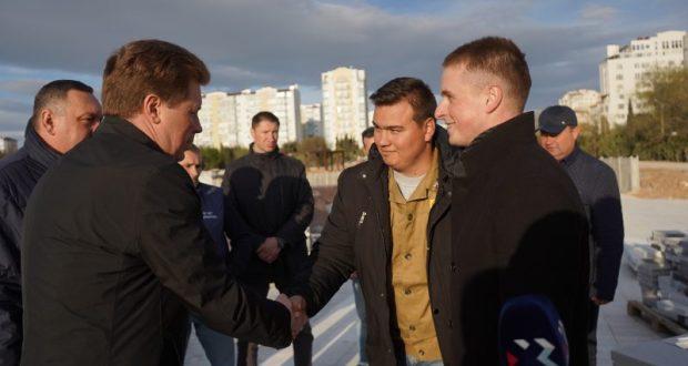 В Севастополе, в Парке Победы, высадят аллею студенческих отрядов