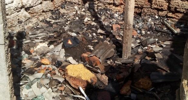 Два пожара в Бахчисарайском районе