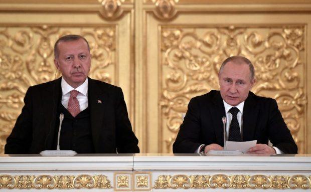 Владимир Путин напомнил турецким бизнесменам о возможности инвестировать в Крым