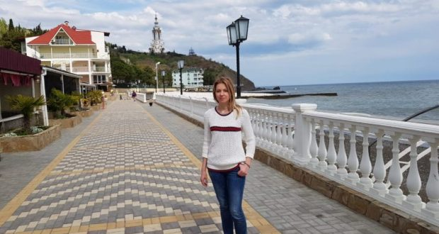 Наталья Поклонская «проинспектировала» курортный поселок Малореченское