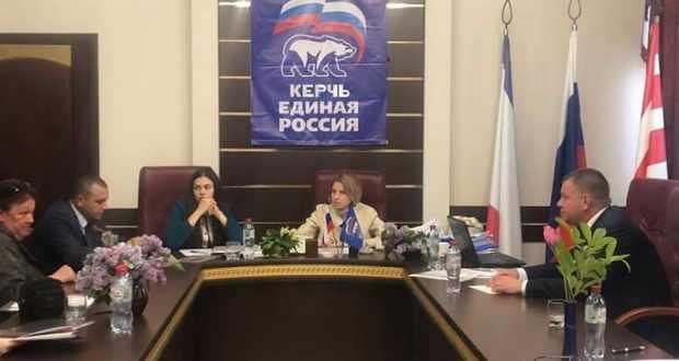 Наталья Поклонская провела прием граждан в Керчи