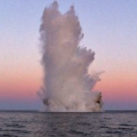 В акватории Чёрного моря вблизи Феодосии обнаружили авиабомбу