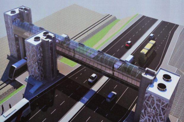 Над трассой «Таврида» появятся пешеходные мосты
