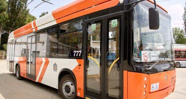 Уже завтра в Симферополе можно будет увидеть новый троллейбус «Горожанин»