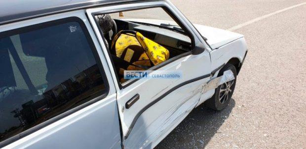 Дети пострадали в ДТП в Севастополе