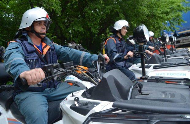 """Пожарную безопасность на Большом слёте туристов """"Артека"""" обеспечивали севастопольские спасатели"""