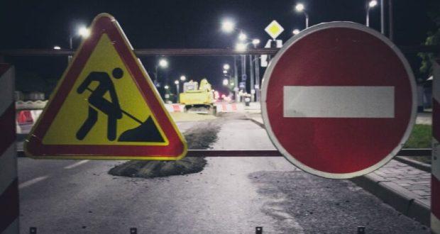 В Симферополе на ночь перекроют путепровод Евпаторийской развязки