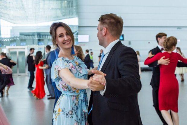 """В аэропорту """"Симферополь"""" танцевали и читали стихи Пушкина"""