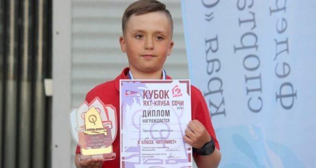 Юный Артём Черпита из Севастополя - победитель Всероссийских юношеских соревнований в Сочи