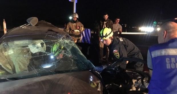 """И снова смерть на трассе """"Таврида"""": столкнулись грузовик и легковушка. Погиб мужчина"""