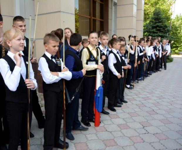 В Евпатории - Первенство России по бильярдному спорту