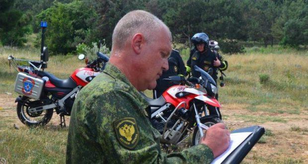 В Севастополе мотопатрули МЧС задействованы в предотвращении крупных пожаров