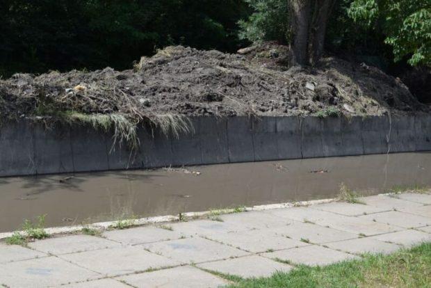 В Симферополе полностью очищен первый участок русла реки Малый Салгир