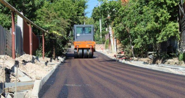 В Севастополе подходит к завершению капремонт дороги на ул. Богдана Хмельницкого