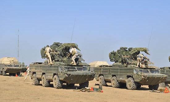 На Черноморском флоте проходит совместное учение зенитно-ракетного полка и морской авиации