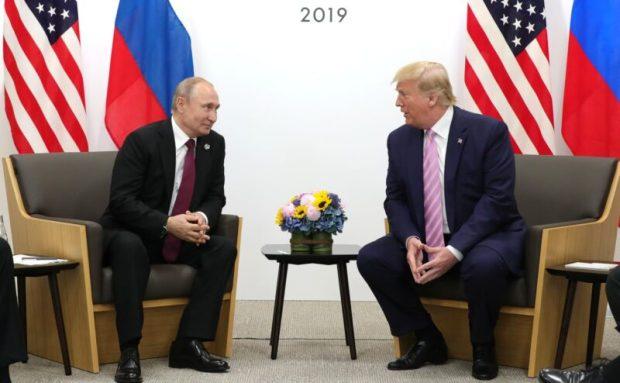Путин пояснил Трампу ситуацию с задержанными близ Керченского пролива украинскими моряками