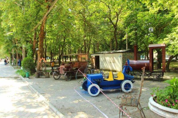 Кованные фигуры симферопольского Детского парка приобретут новый вид